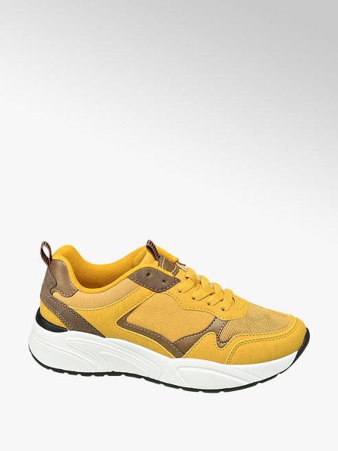 Graceland Chunky Sneaker in Gelb