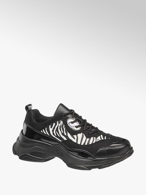 Graceland Chunky Sneakers in Schwarz