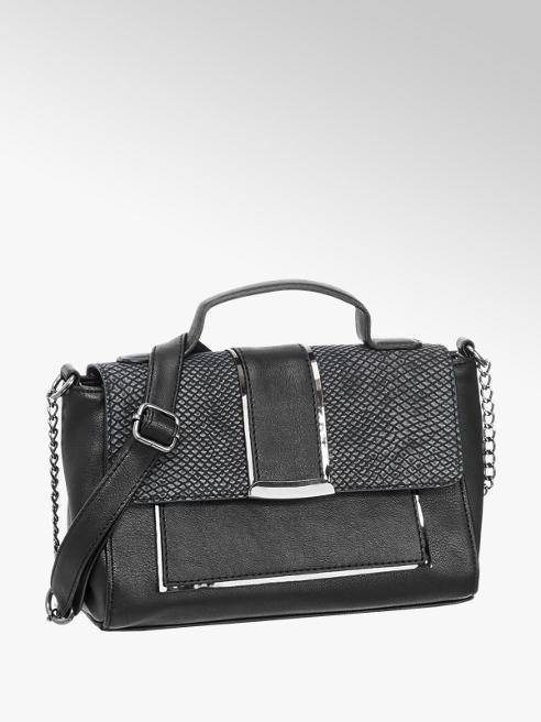 Graceland Croc Detail Shoudler Bag