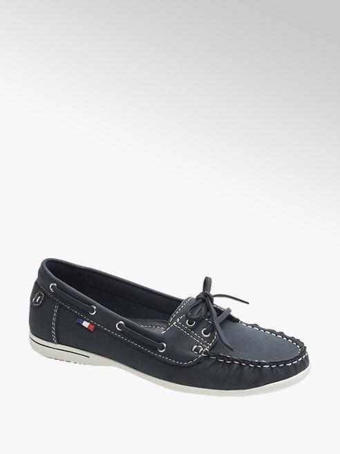 Graceland Donkerblauwe loafer veter