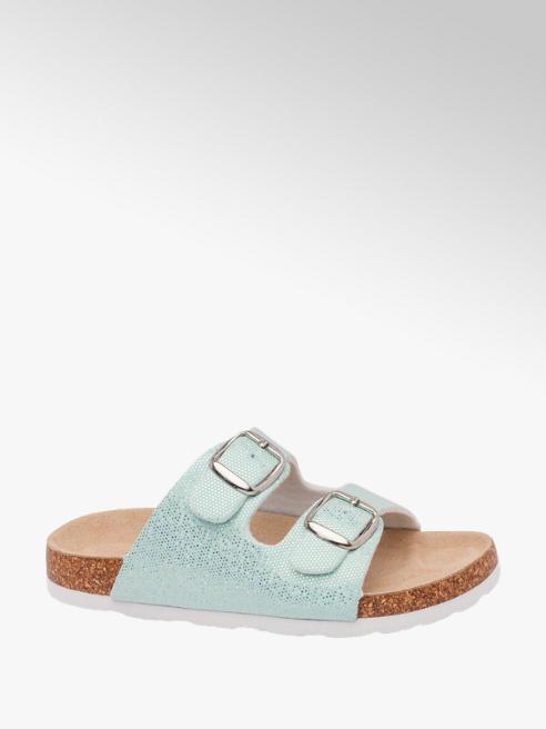 Graceland Sparkle Footbed Sandal