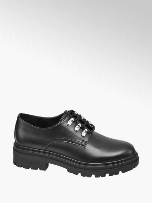 Graceland Ladies Chunky Lace-up Shoes