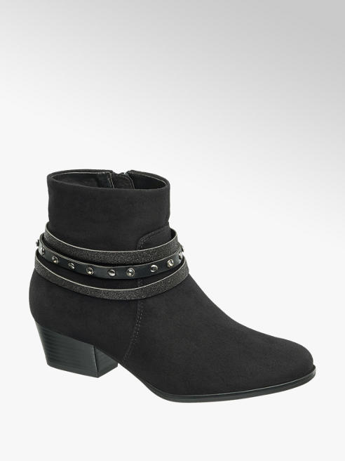 Graceland Junior Girl Strap Detail Ankle Boot