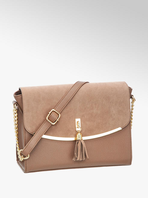 Graceland Handtasche in Braun