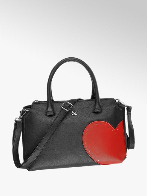 Graceland Handtasche in Schwarz