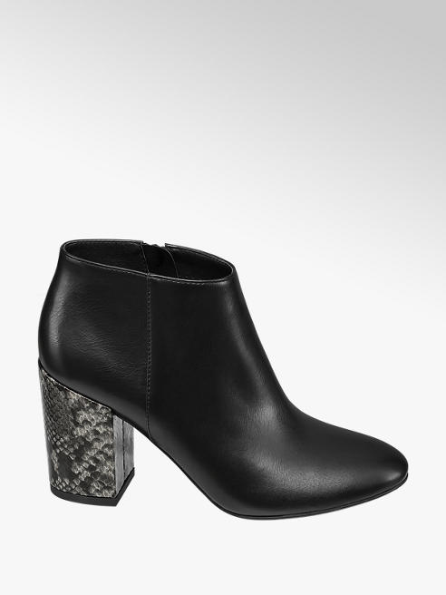 Graceland Hochfront Pumps in Schwarz