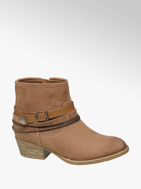 Graceland Junior Girl Buckle Detail Ankle Boots