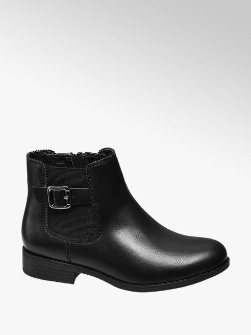 Graceland Junior Girl Black Chelsea Boots