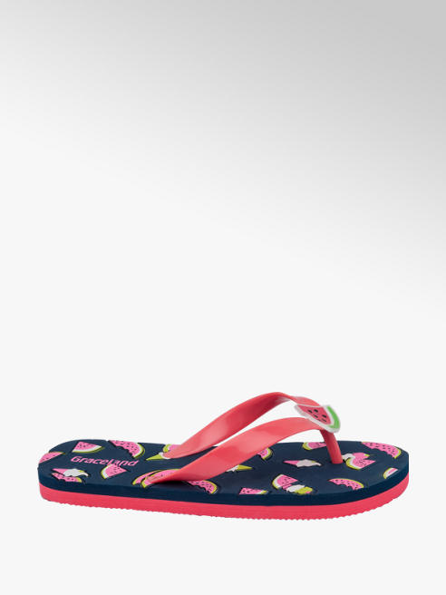 Graceland Junior Girl Fruity Flip Flops