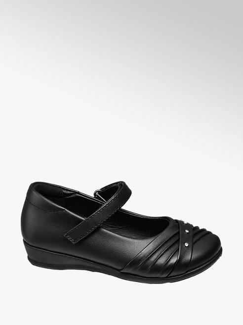 Graceland Junior Girl Gem Detail Bar Shoes
