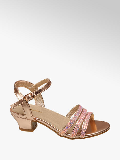 Graceland Junior Girl Glitter Party Shoes