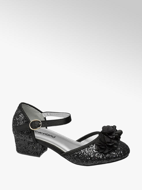 Graceland Junior Girl Glitter Party Shoes
