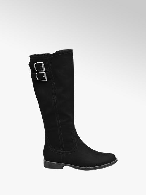 Graceland Junior Girl Black High Leg Boots