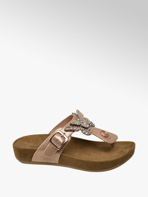 Graceland Junior Girl Toe-Post Footbed Sandals