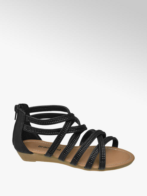 Graceland Junior Girl Embellished Wedge Sandals