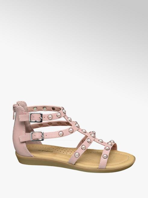 Graceland Junior Girl Pear Embellished Gladiator Sandals