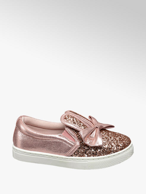 Graceland Junior Girl Bunny Ear Glitter Casual Shoes