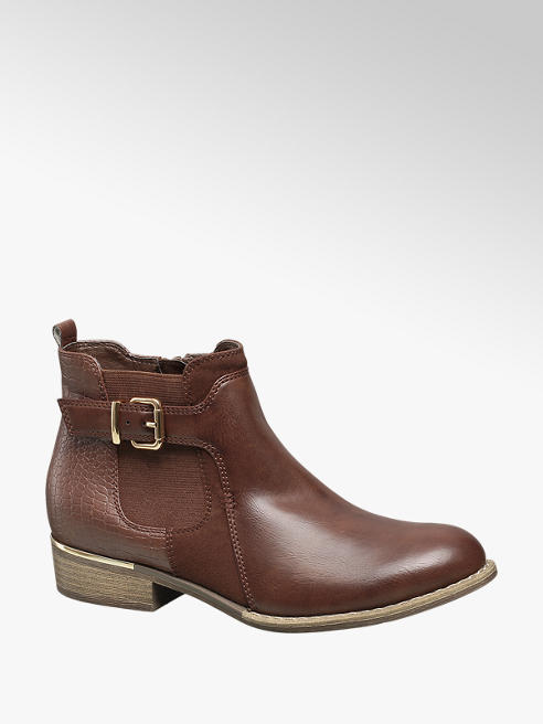 Graceland Brown Ankle Boots