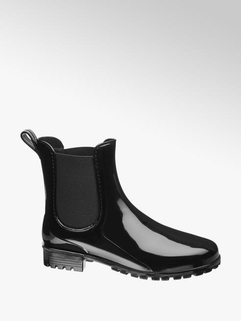 Graceland Ladies Ankle Wellington Chelsea Boots