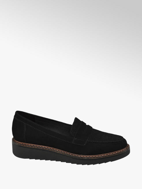Graceland Chunky Sole Loafers