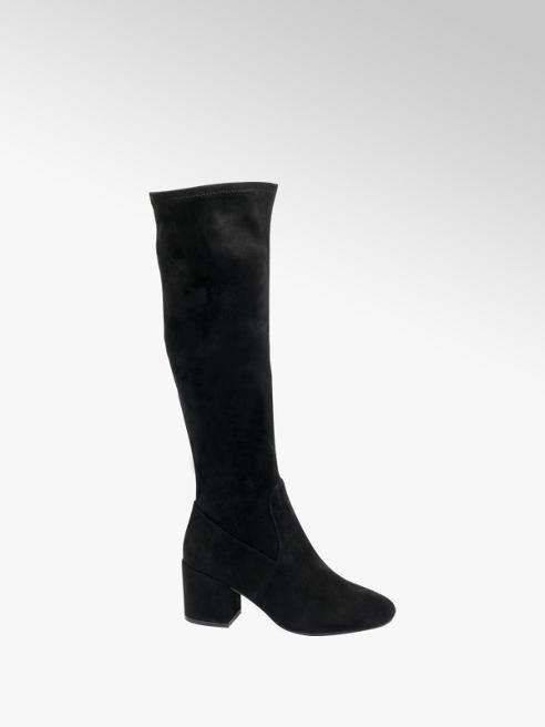 Graceland Black Over The Knee Boots