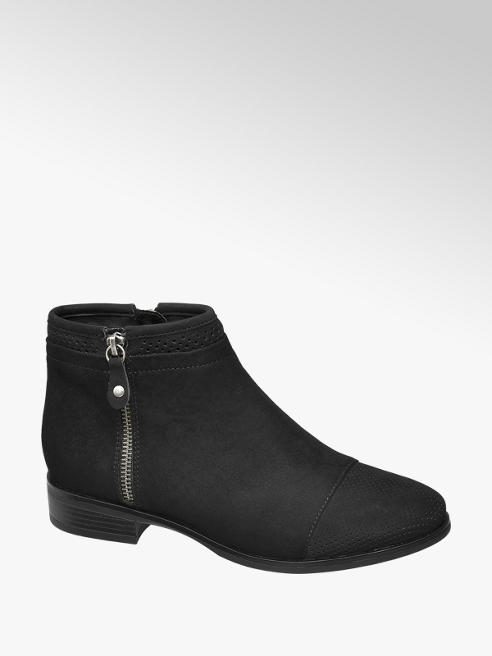 Graceland Zip Detail Ankle Boots