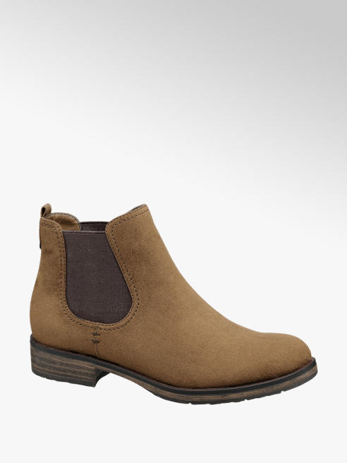 Graceland Tan Chelsea Boots