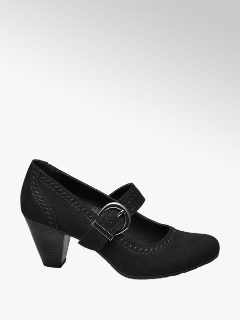 Graceland Buckle Strap Heel