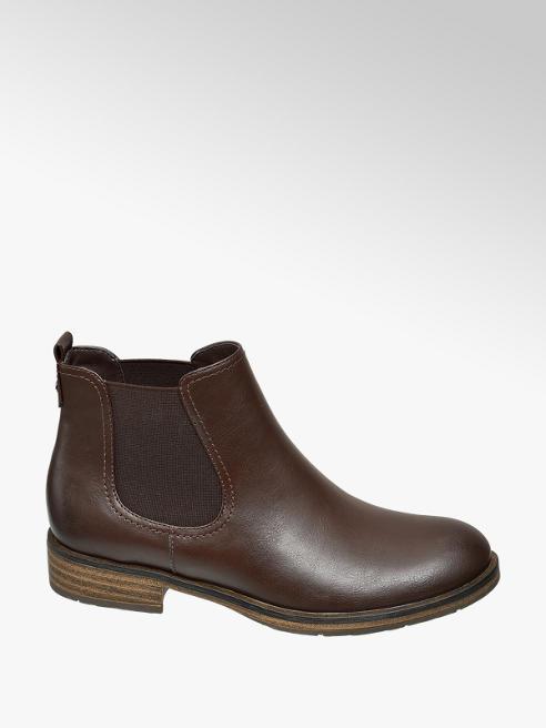 Graceland Dark Brown Chelsea Boots