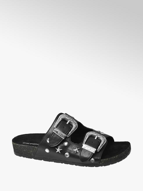 Graceland Chunky Buckle Sandal