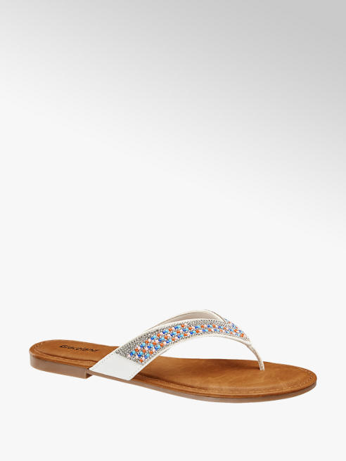Graceland Diamonte Toe Post Sandal