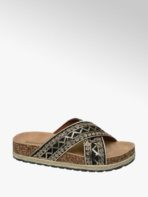 Graceland Embellished Crossover Sandal