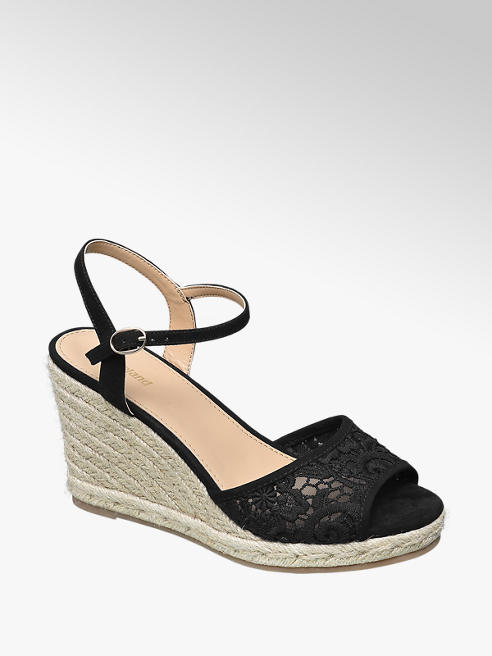 Graceland Espadrille Wedge Sandals