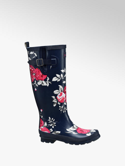 Graceland Ladies Floral Wellingtons