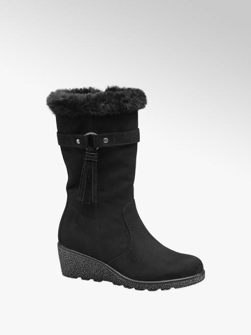 Graceland Junior Girl Faux Fur Wedge Boot