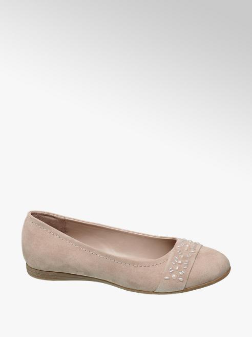 Graceland Gem Detail Ballerina