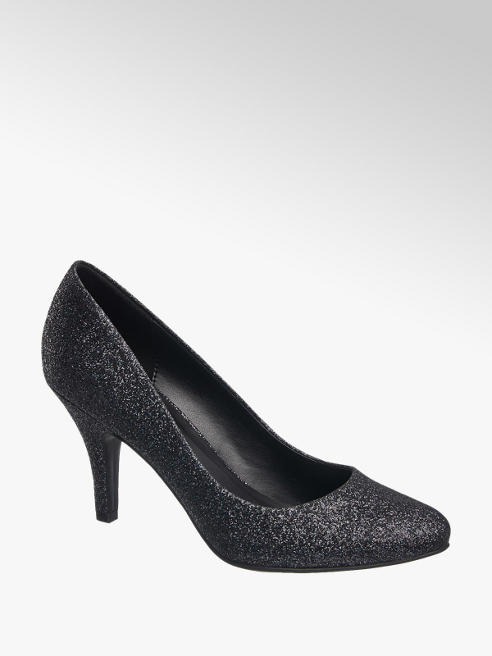 Graceland Glitter Court Shoe
