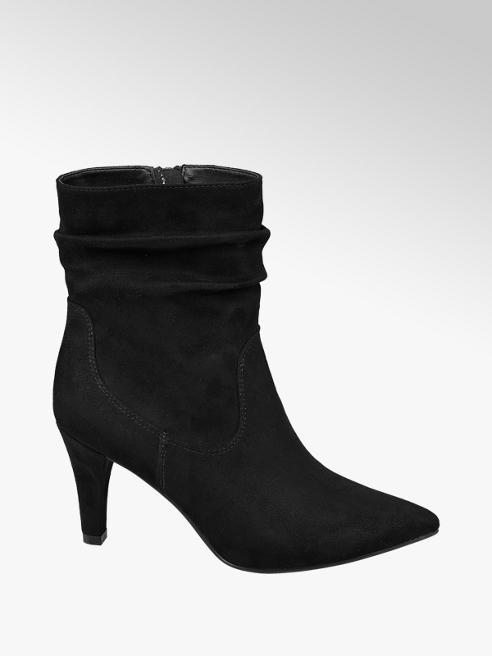 Graceland Stiletto Heeled Ankle Boots