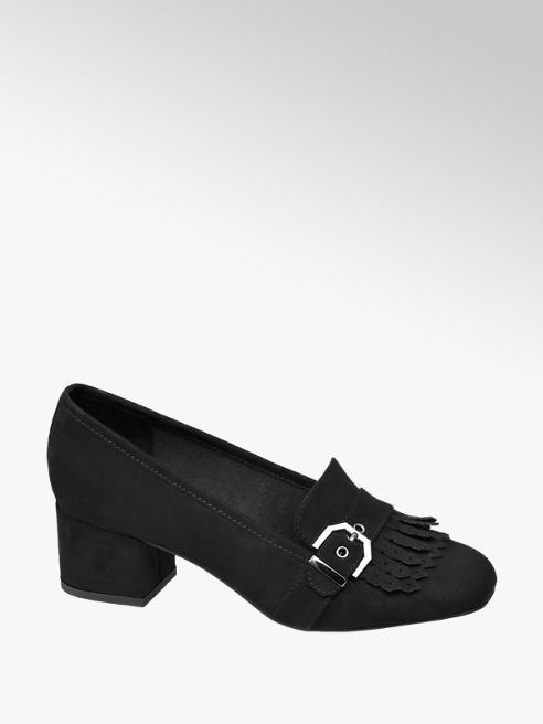 Graceland Heeled Fringing Loafer
