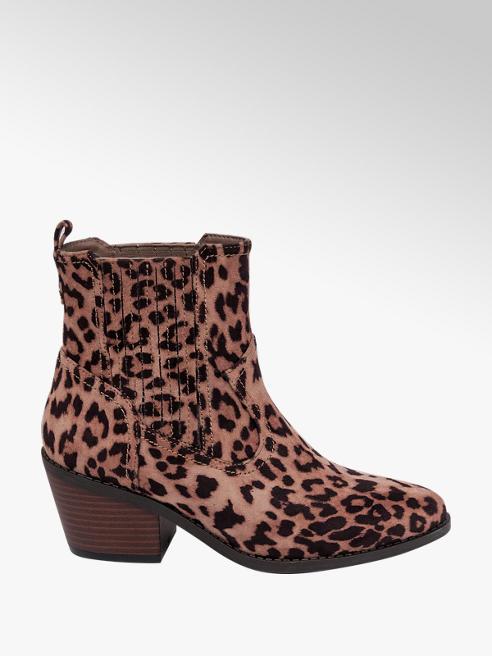Graceland Leopard Print Western Boots