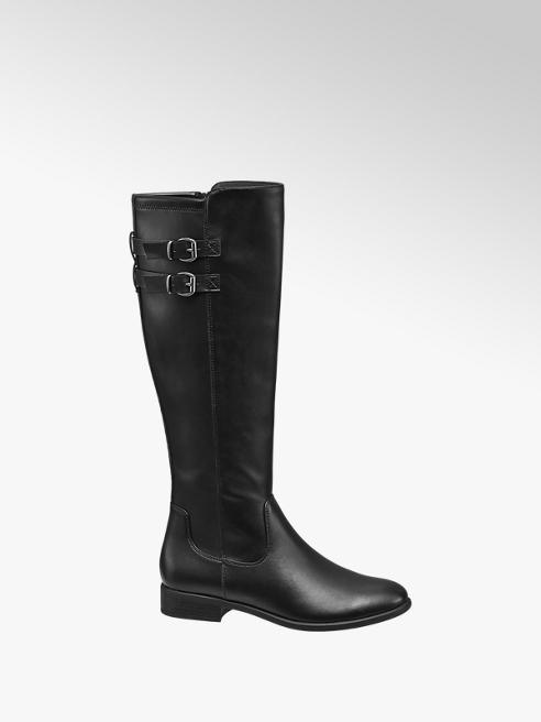 Graceland Black Long Leg Boots