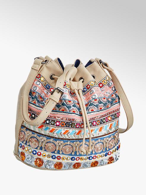 ef2e2022133a Graceland Ladies  Multi-coloured Sequin Duffle Bag