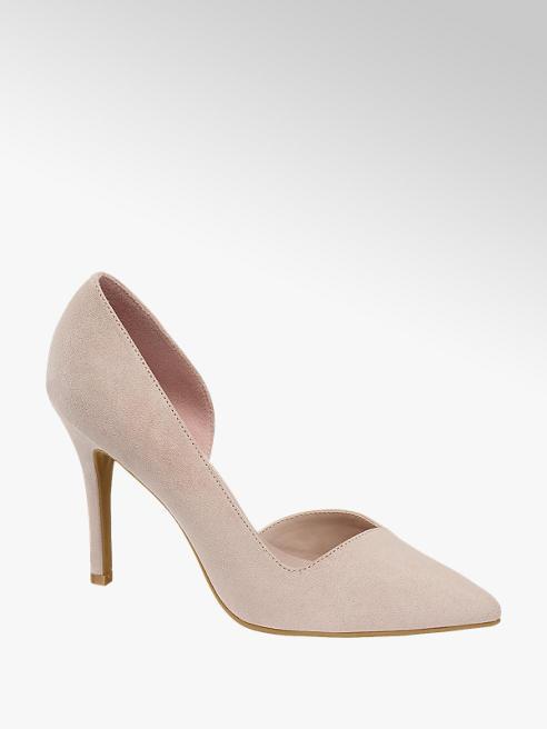 Graceland Pink Elegant High Heel Court Shoes