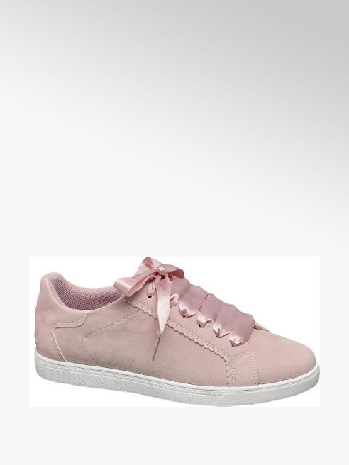Graceland Ribbon Lace Trainer