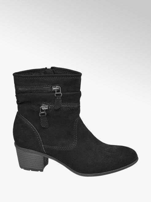 Graceland Black Rouched Boot