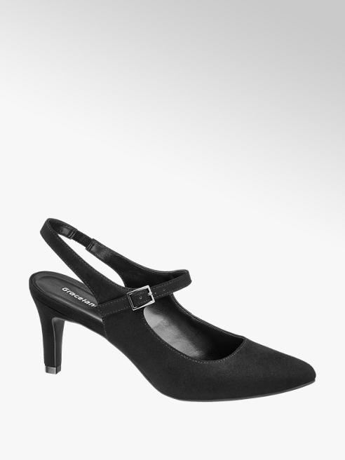 Graceland Slingback Heeled Shoe