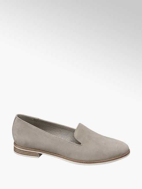 Graceland Grey Slip-on Loafers