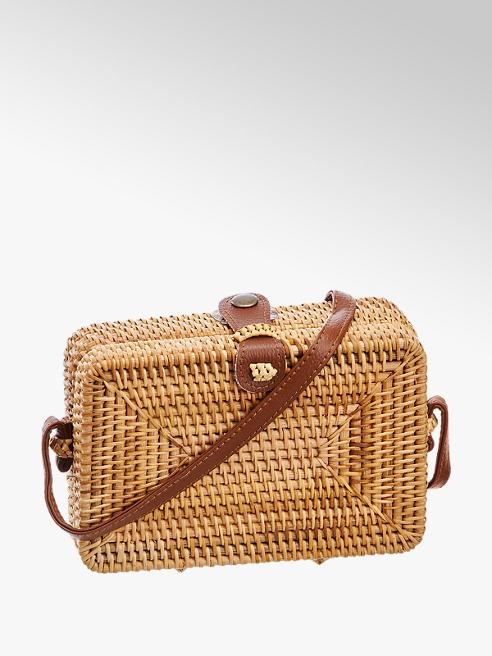 Graceland Straw Cross Body Bag
