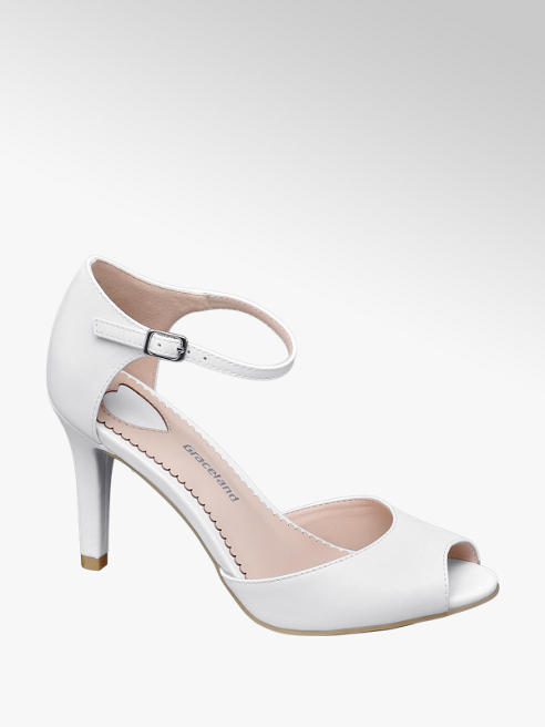 Graceland Peep-Toe Heels