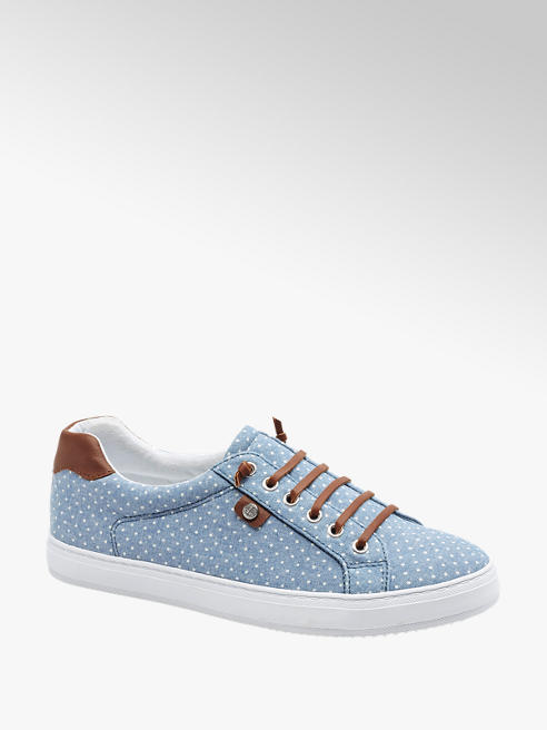 Graceland Leinen Sneaker in Blau